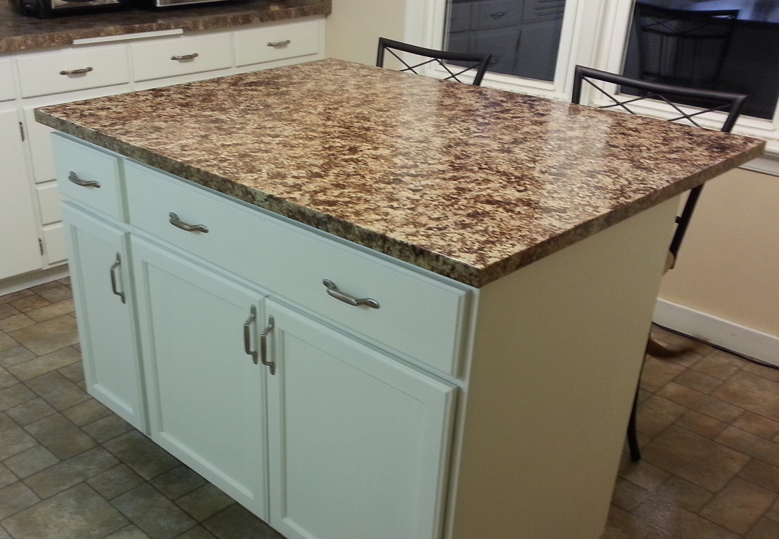 Build kitchen island table - Picture